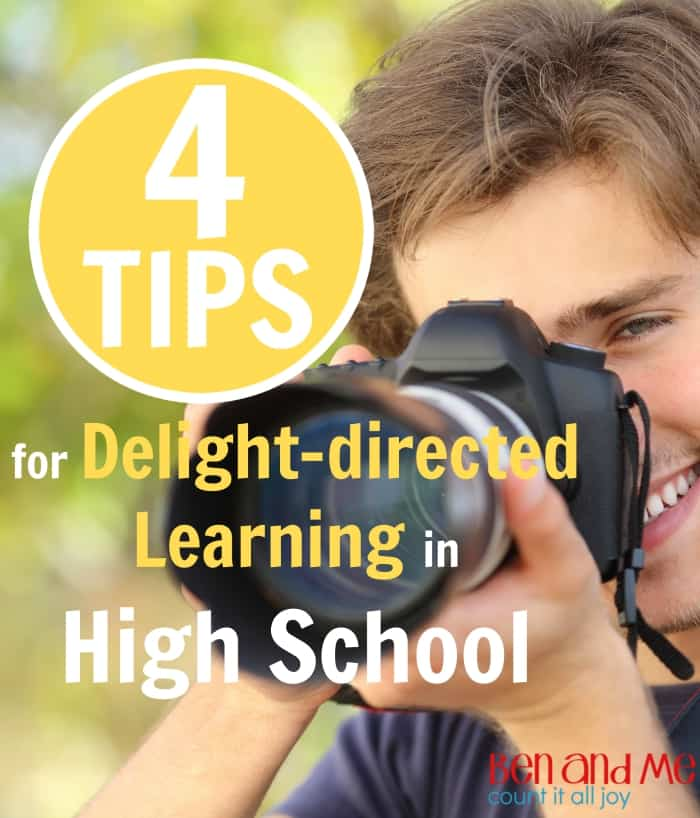 4 Tips for Delight-directed Learning in High School
