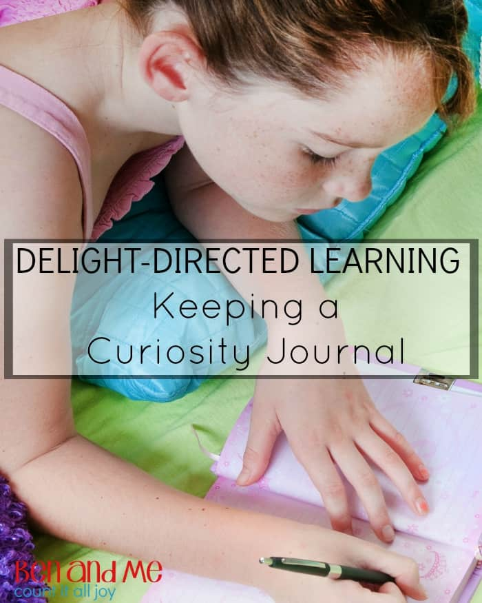 Delight-directed Learning: Keeping a Curiosity Journal
