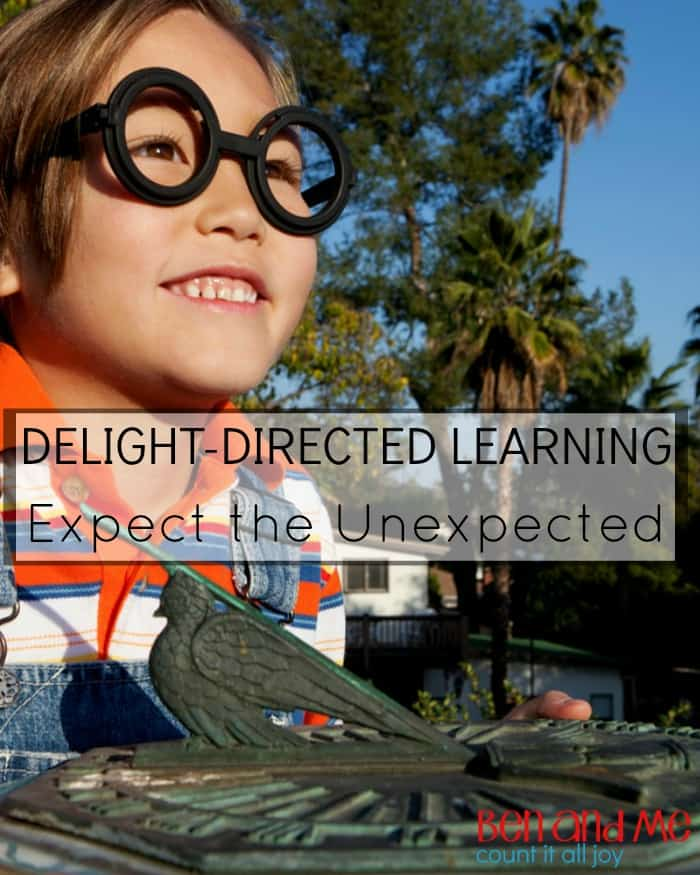 Delight-directed Learning: Expect the Unexpected
