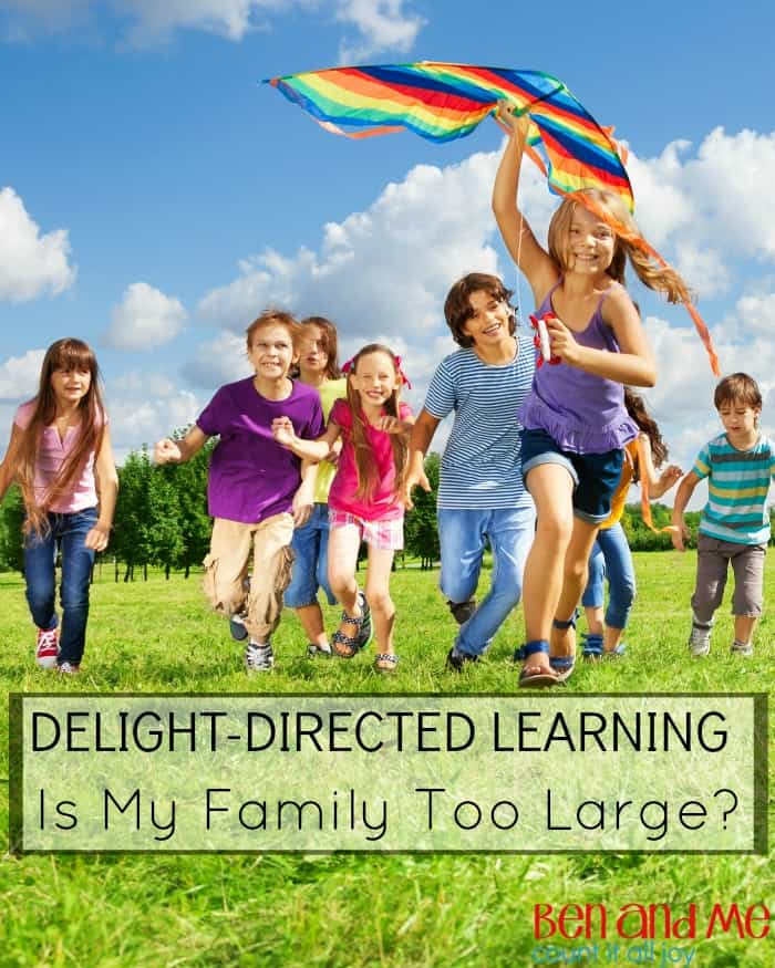Delight-directed Learning Is My Family Too Large