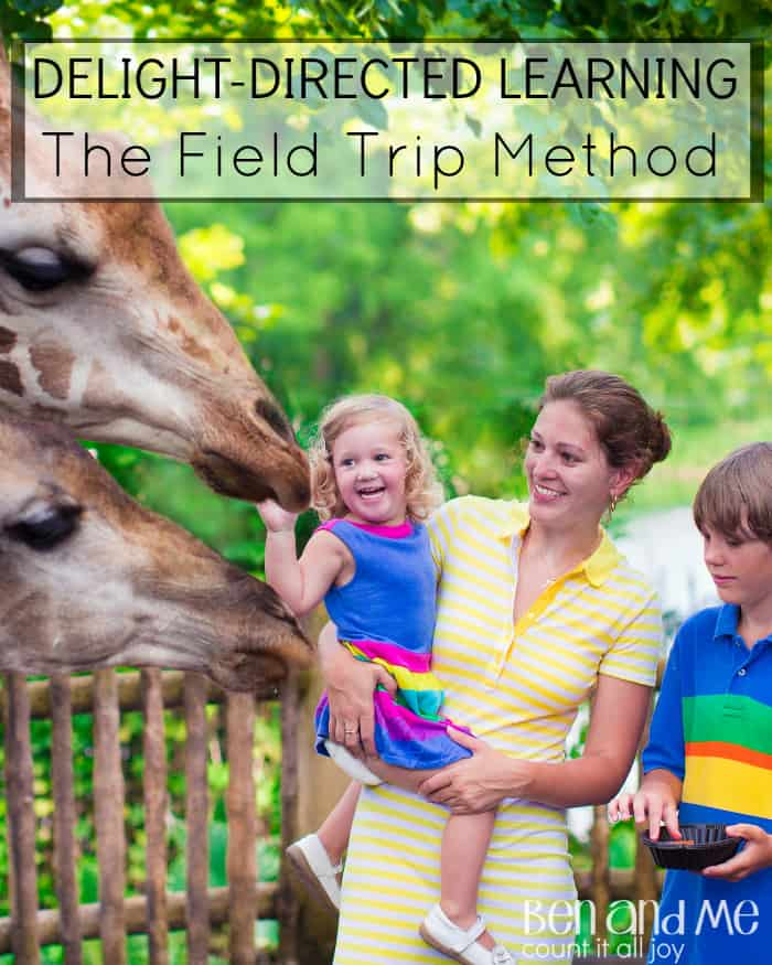 Delight-directed Learning: Homeschool field trips