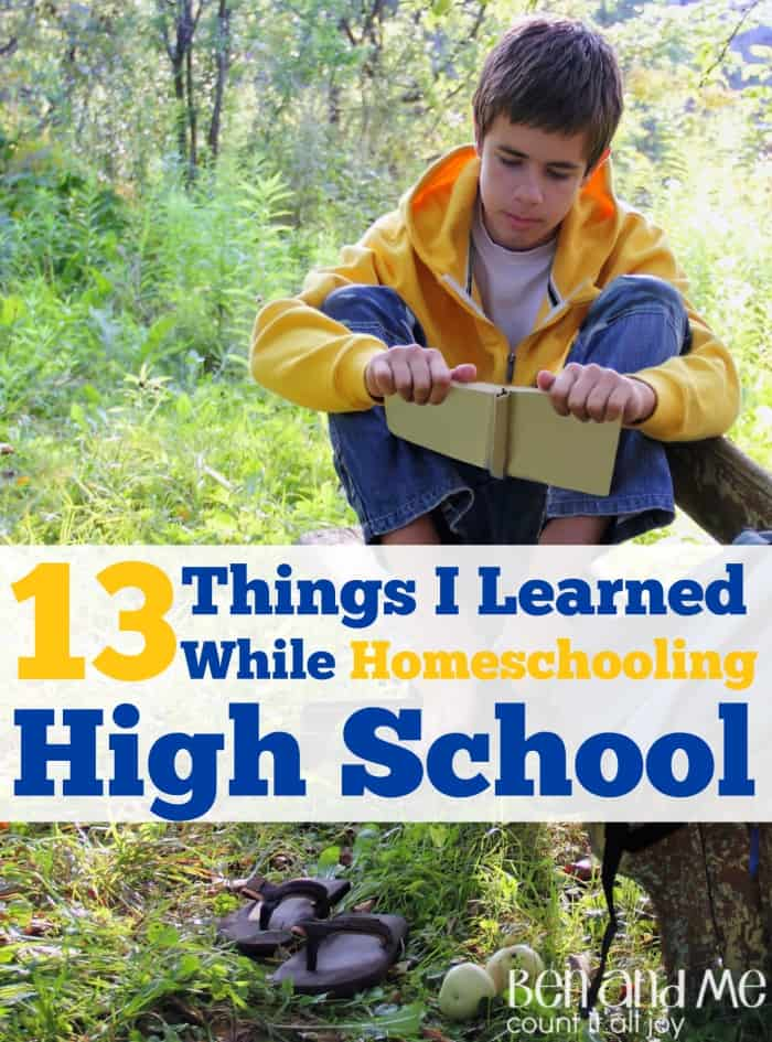 13 Things I Learned While Homeschooling High School