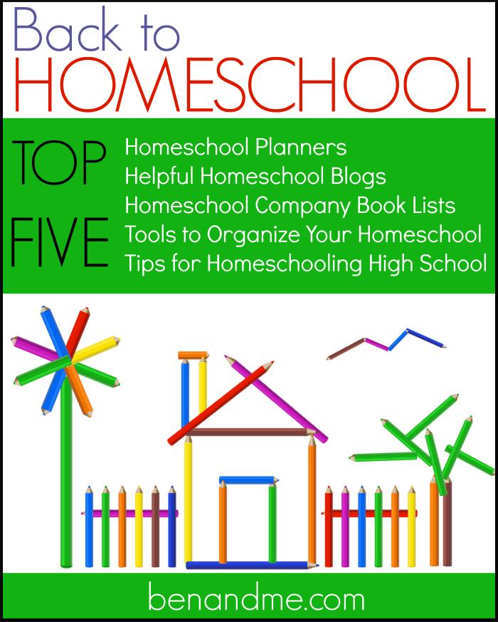 Back to Homeschool Top Five