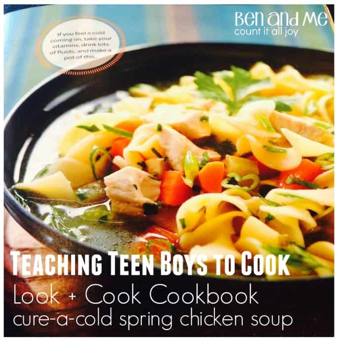 Teaching Teen Boys How to Cook with Rachael Ray's Look + Cook Cookbook