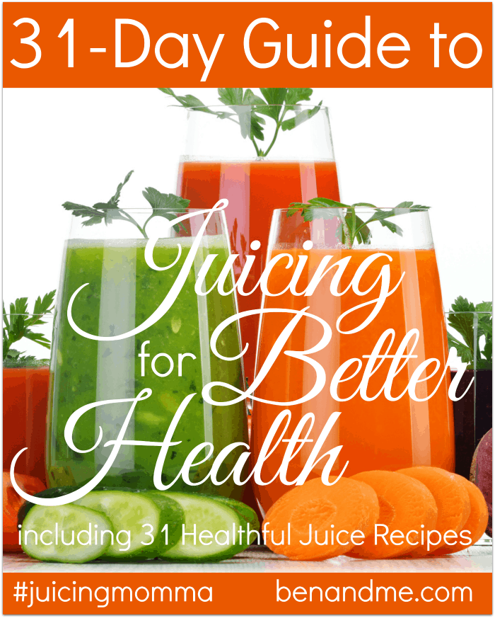 31-Day Guide to Juicing for Better Health + Mean Green Juice Recipe