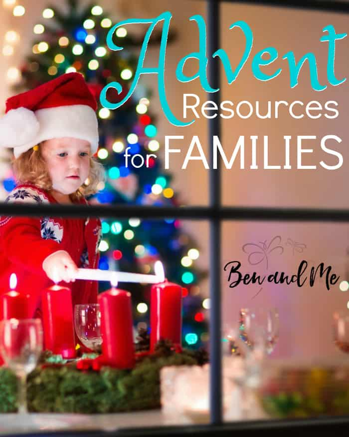 Celebrate the coming of the newborn king this year with these highly recocommended Advent resources for families. #advent #christmas #homeschool #homeschooling