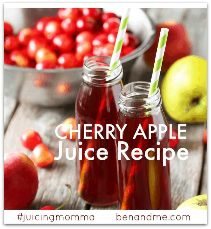 How To Prepare Fruits For Juicing + Cherry-Apple Juice