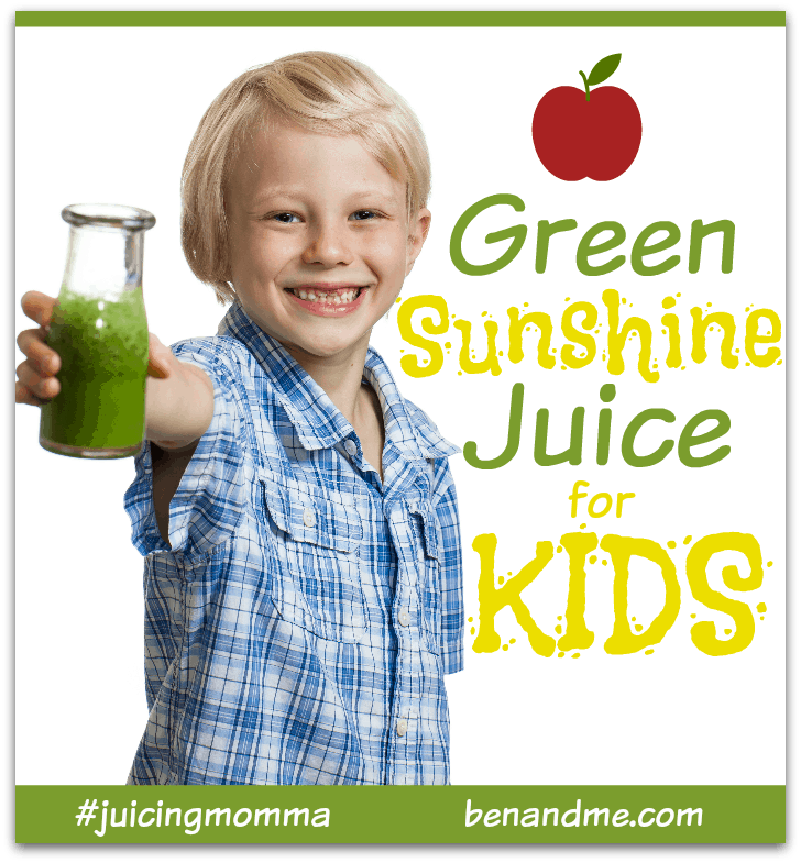 Green Sunshine Juice for Kids
