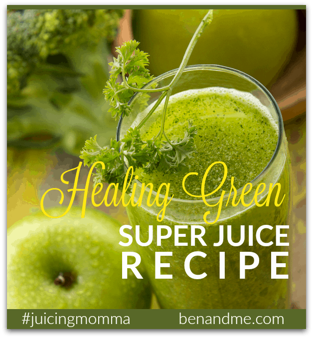 Healing Green Super Juice Recipe