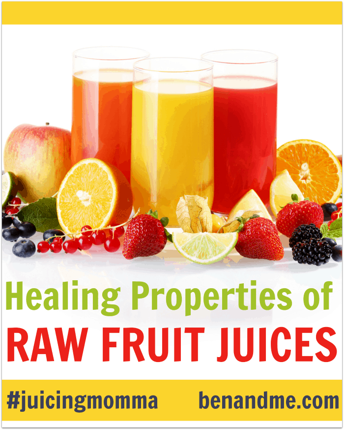 Healing Properties of Raw Fruit Juices + Minty Orange Juice Recipe