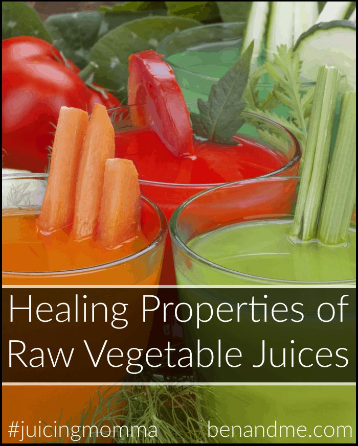 Healing Properties of Raw Vegetable Juices + V-10 Juice Recipe
