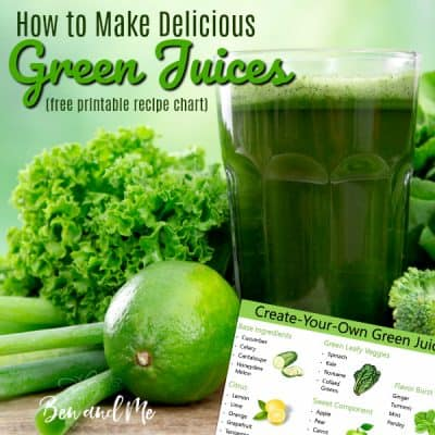 How to Create Your Own Green Juice Recipes + a Simple Green Juice Recipe