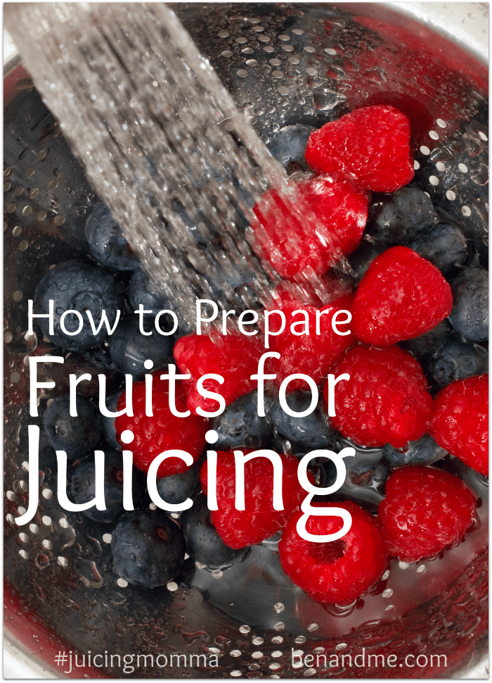 How to Prepare Fruits for Juicing + Cherry-Apple Juice Recipe