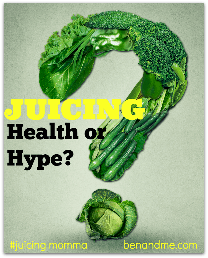Juicing – Is It Really Healthy or Just the Latest Fad? + Green Juice with Pear Recipe