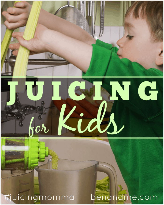 Juicing for Kids + Green Sunshine Juice for Kids Recipe