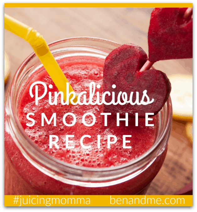 Pinkalicious Smoothie Recipe