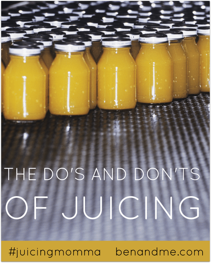 The Do's and Don'ts of Juicing + Better Than Grapefruit Juice Recipe