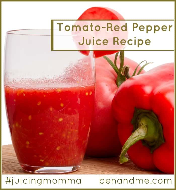 Tomato Red Pepper Juice Recipe