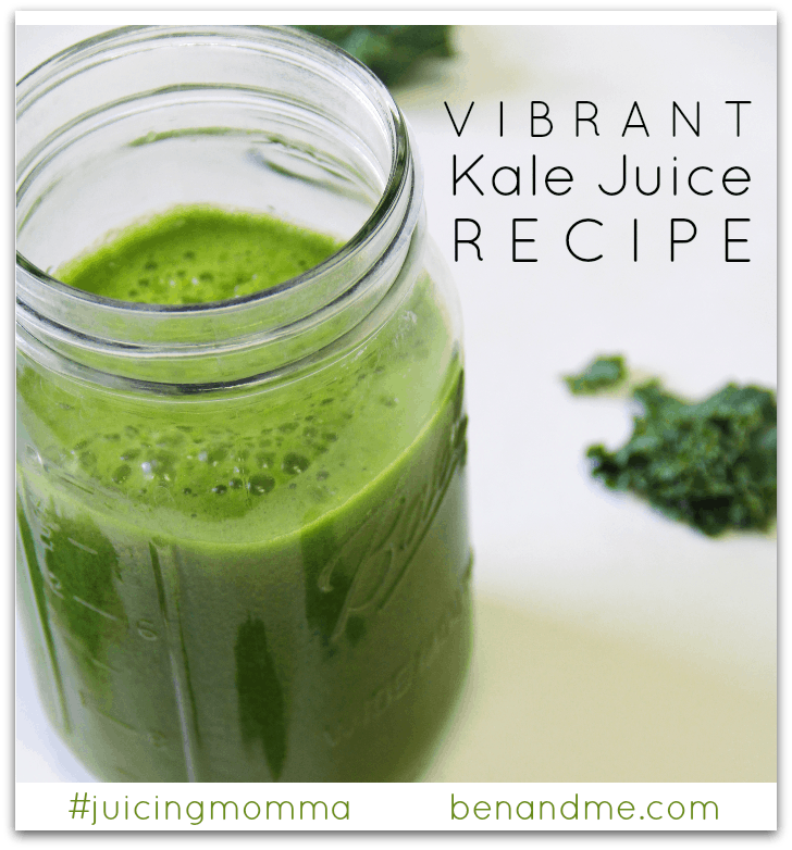 Vibrant Kale Juice Recipe