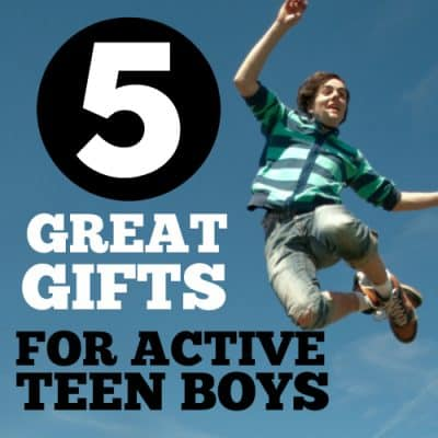 5 Great Gifts for Active Teen Boys