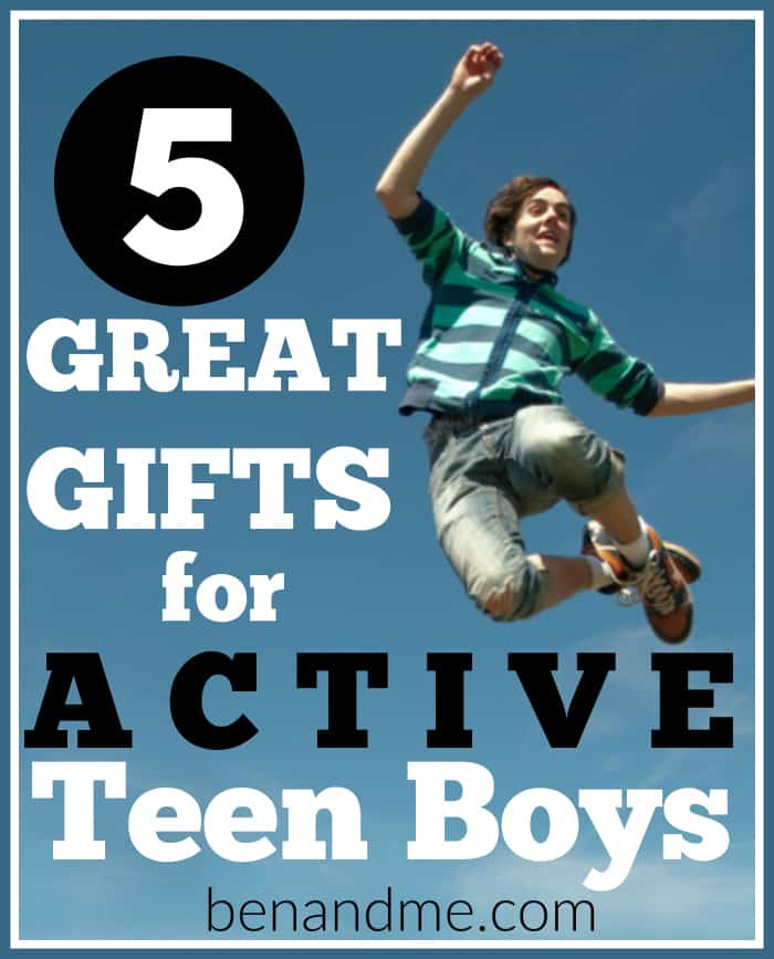 Do you have a teen boy who who would rather be active and outside than inside playing video games? Here are some great gift ideas for him!