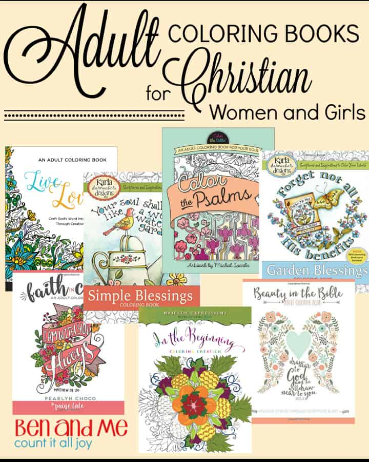 Adult Coloring Books For Christian Women And Girls