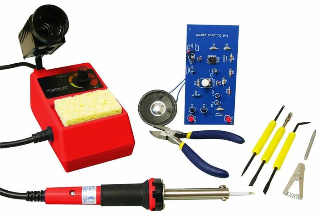 Best Science Gifts for Teen Boys: learn to solder kit