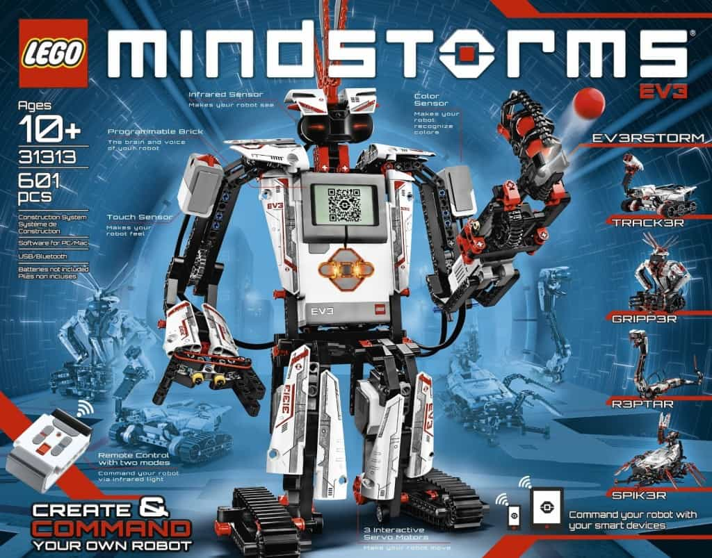 Best Science Gifts for Teen Boys: Lego Mindstorms
