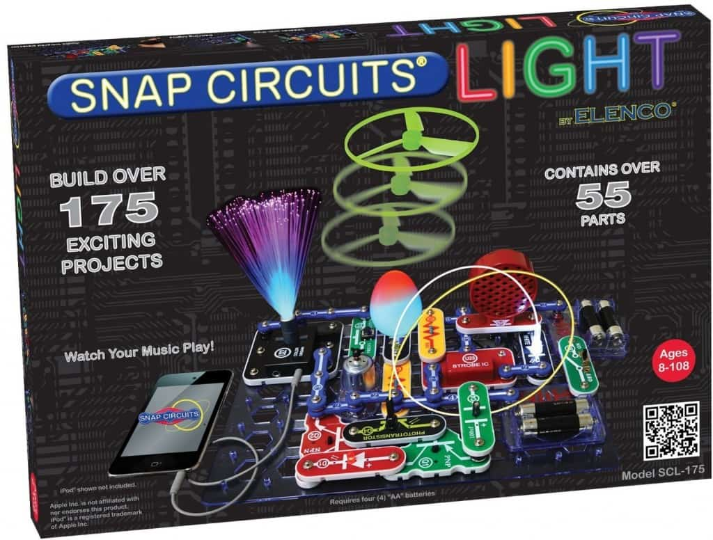 Best Science Gifts for Teen Boys: Snap Circuits Light