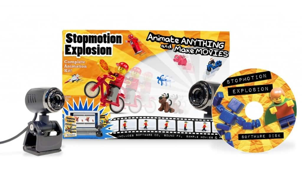 Best Science Gifts for Teen Boys: Stopmotion Explosion animation kit