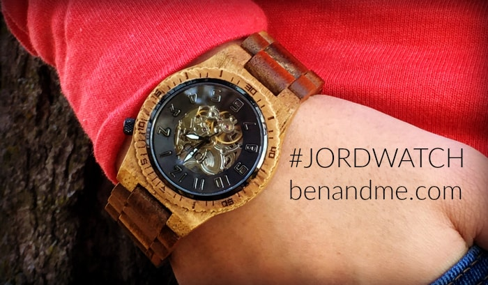 #JORDWATCH JORD wood watches -- beautiful timepieces for gift giving