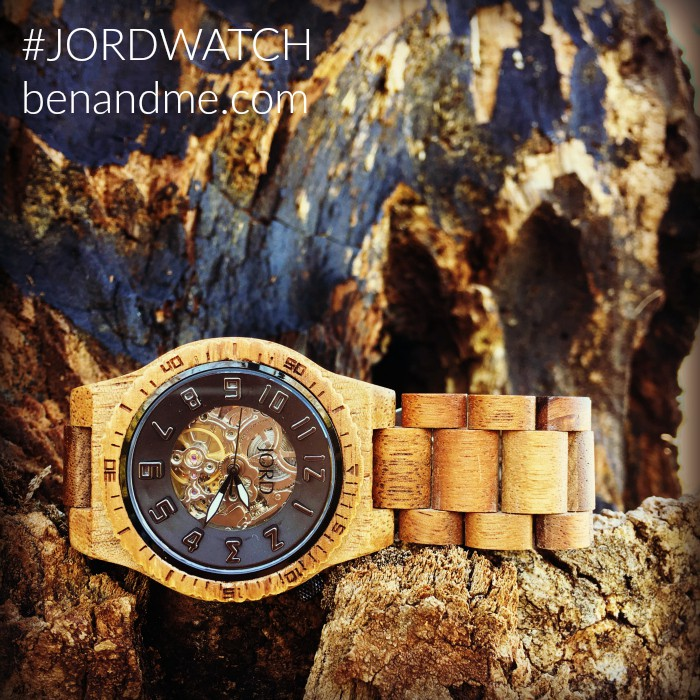 Ben's favorite birthday gift came from JORD Wood Watches