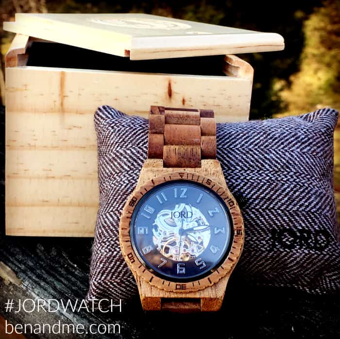 #JORDWATCH JORD wood watches -- for everyone on your gift list.