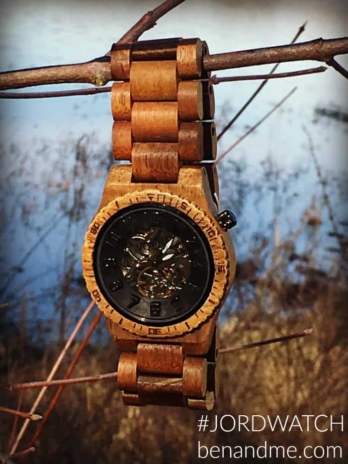 #JORDWATCH JORD wood watches make great gifts! Grab a $35 eGift Card from Ben and Me for a limited time!