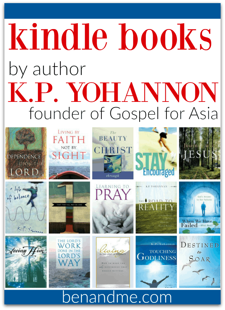 Kindle Books by K.P. Yohannan, founder of Gospel for Asia