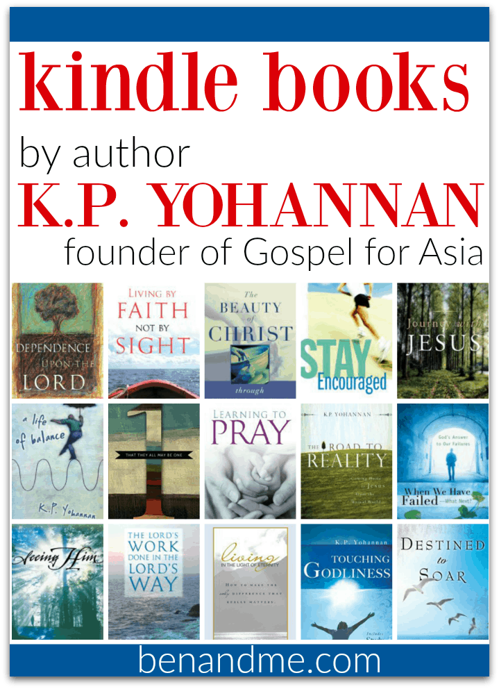 -Kindle Books by K.P. Yohannon founder of Gospel for Asia