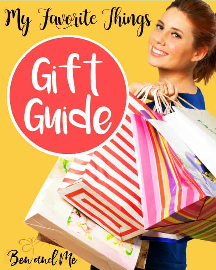 My Favorite Things Gift Guide -- a few of my favorite things to give you some ideas for gift-giving.
