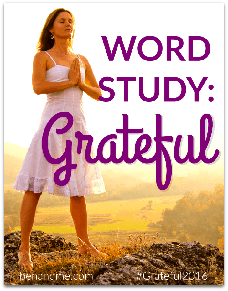Word Study: Grateful