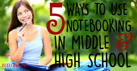 5 WAYS TO USE NOTEBOOKING IN MIDDLE AND HIGH SCHOOL FB