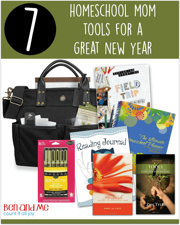 7 Homeschool Mom Tools for a Great New Year