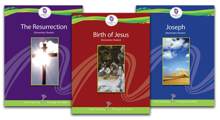 Grapevine Bible Studies: Birth of Jesus - Resurrection - Joseph Bible Study for Kids