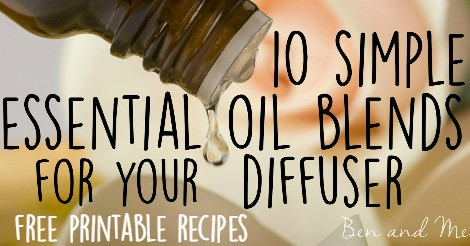 10 Simple Essential Oil Blends for Your Diffuser Facebook