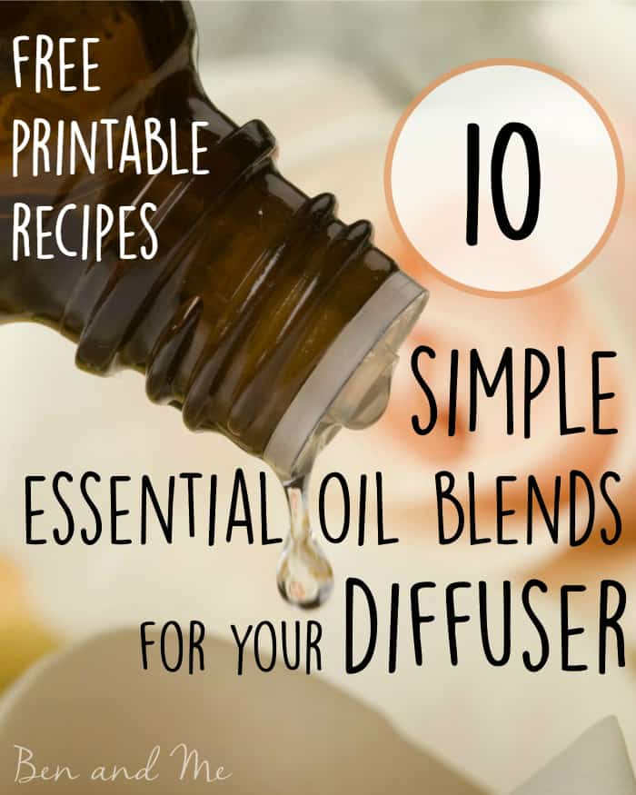 10 Simple Essential Oil Blends For The Diffuser