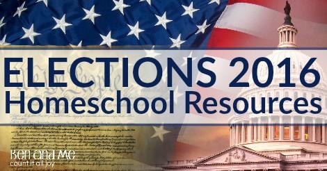 Elections 2016 Homeschool Resources FB