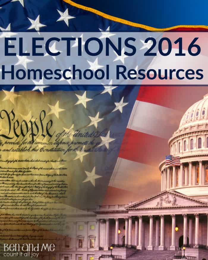 Elections 2016 Homeschool Resources