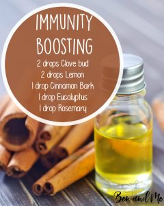 Immunity Boosting Essential Oil Blend for Your Diffuser