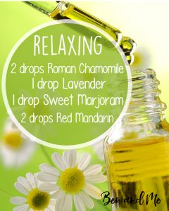 Relaxing Essential Oils Blend for Your Diffuser