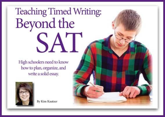 Teaching Timed Writing Beyond the SAT