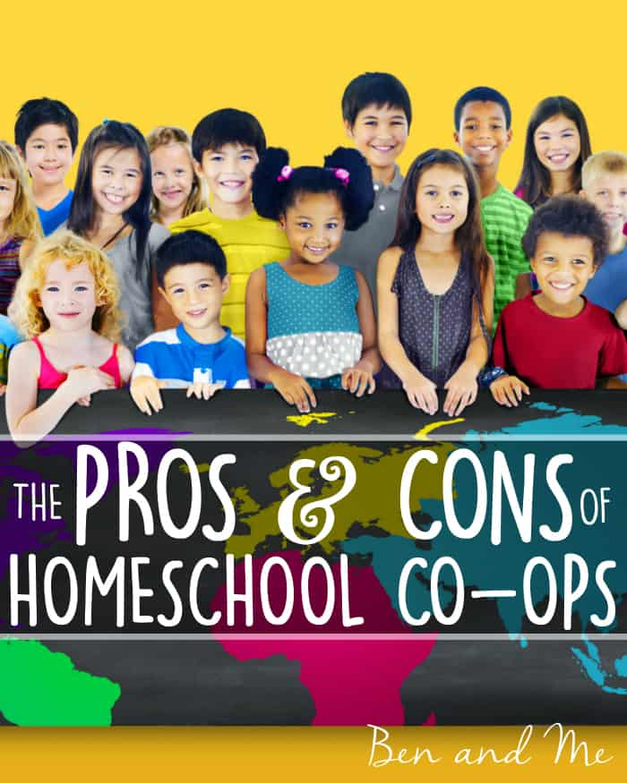 Homeschool Co-ops can be a great way to enrich homeschooling for your students. However, no co-op will meet all of your expectations. They take work, compromise, and a lot of grace in order to be successful.  Here are the pros and cons of participating in a homeschool co-op.