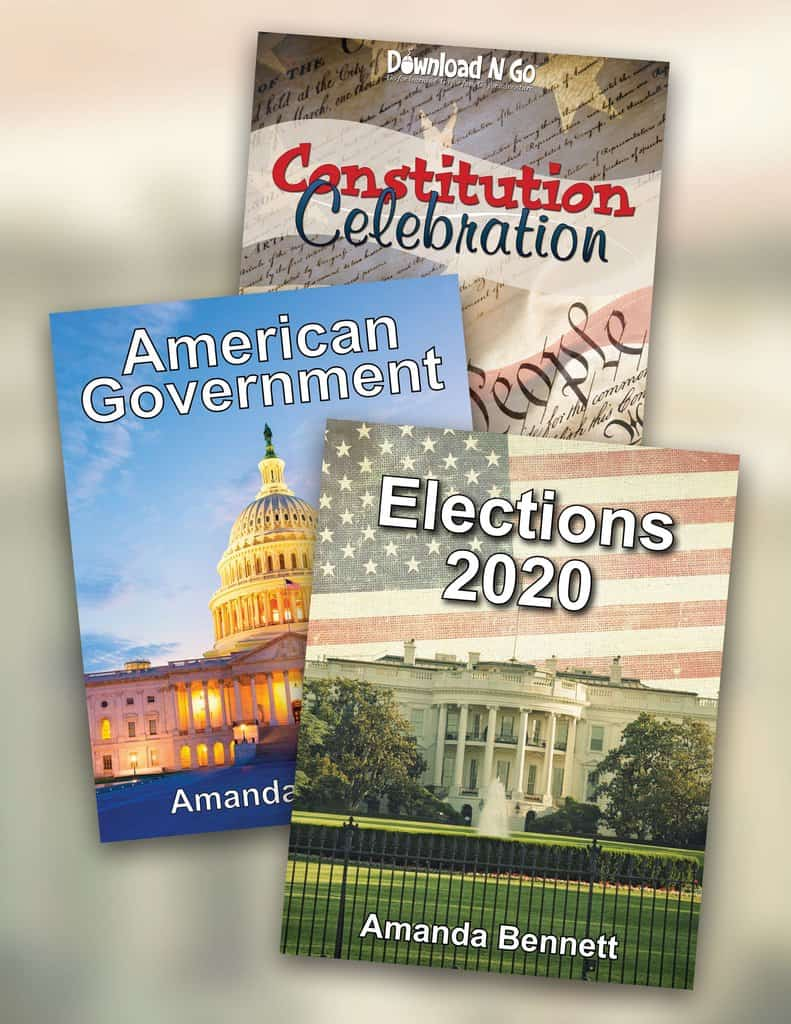 Are you ready to spend one quarter of your homeschool year learning about the history of the American Government and the Elections process? With the Elections 2020 bundle, you'll have 9 weeks of unit studies to help your children learn what part the elections process and government play in their daily lives and how they can make a difference! Includes lapbooking and notebooking activities. #homeschool #unitstudies #homeschoolcivics #homeschoolhistory
